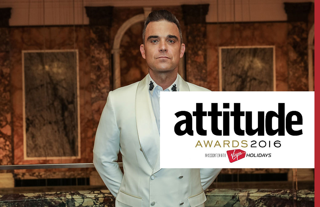 Le magazine gay Attitude récompense Robbie Williams