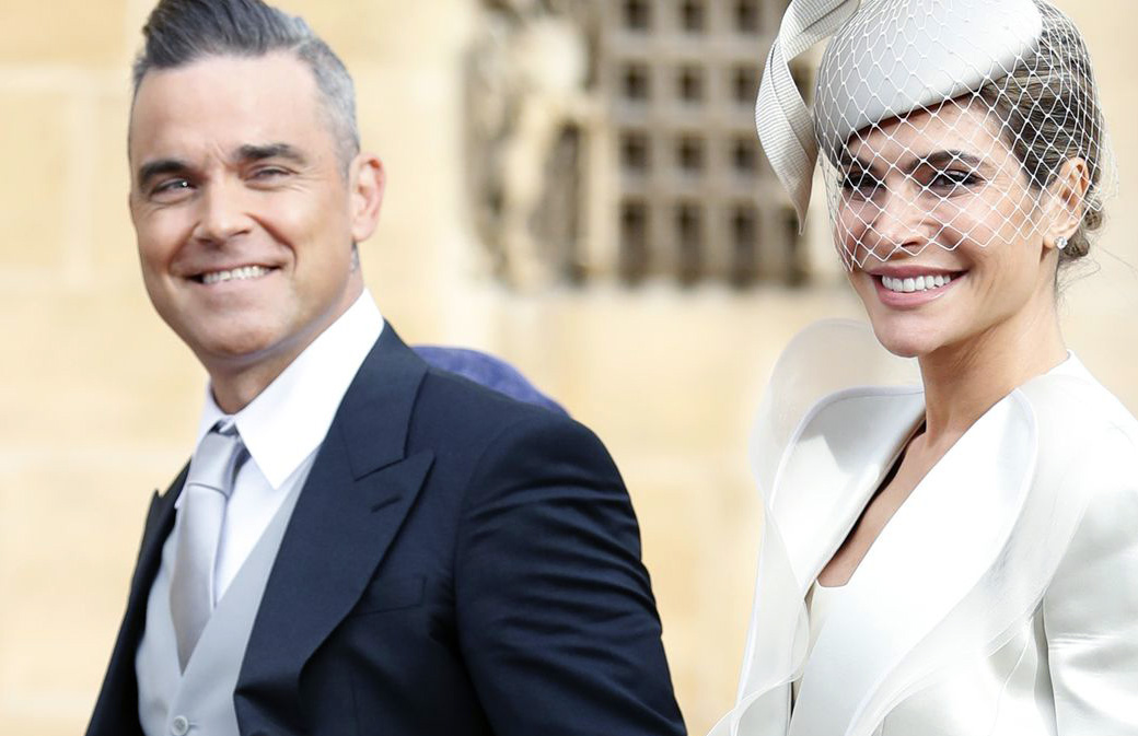 Mariage Princier : la fille de Robbie Williams vole la vedette!