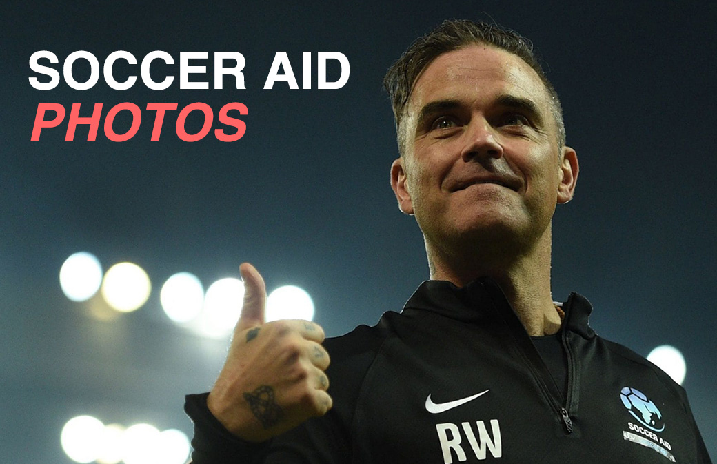 Soccer Aid 2018 : les photos du match