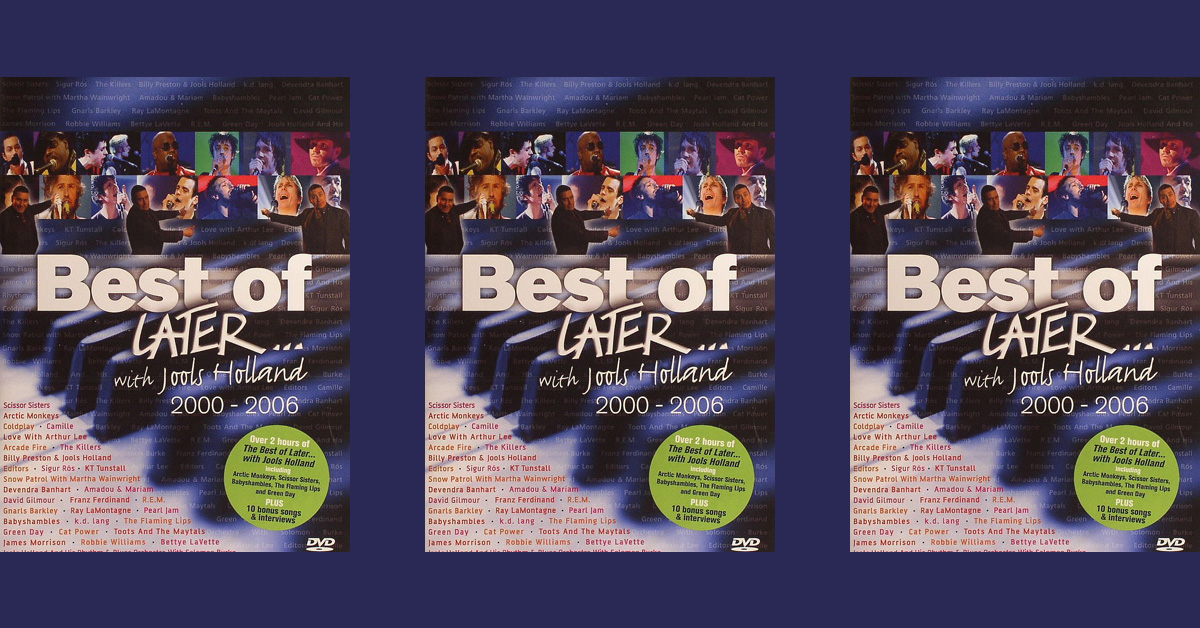 Nouveau DVD : The Best Of Later... With Jools Holland