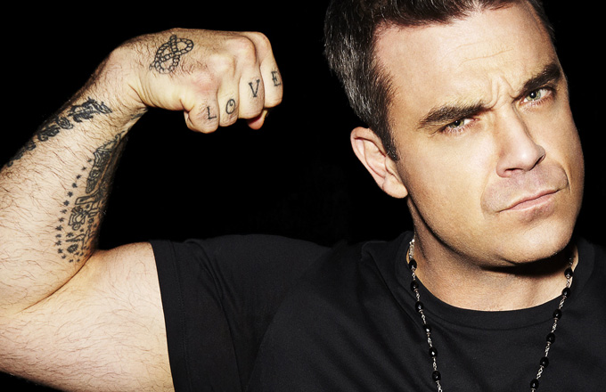 Les 24 tatouages de Robbie Williams