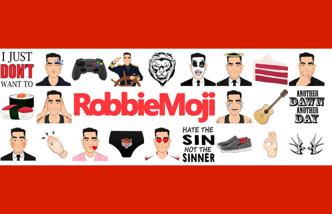 RobbieMoji : la nouvelle appli officielle Robbie Williams