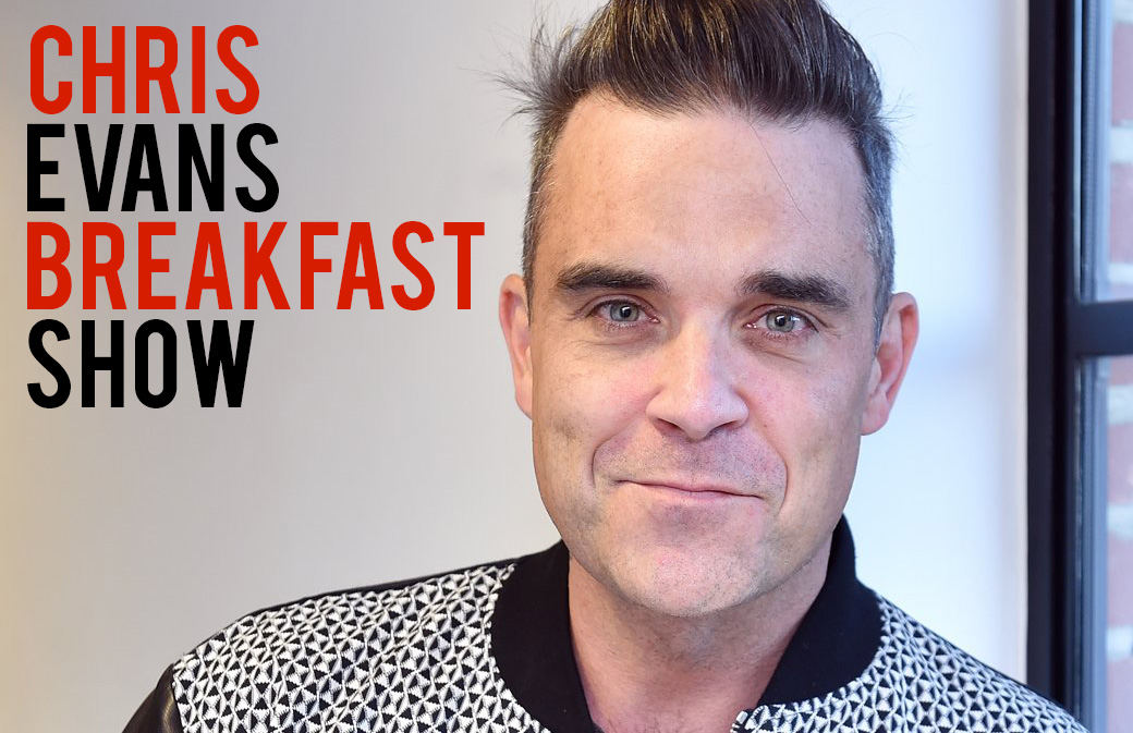 Robbie chez Chris Evans - Breakfast Show - Photos et Audio