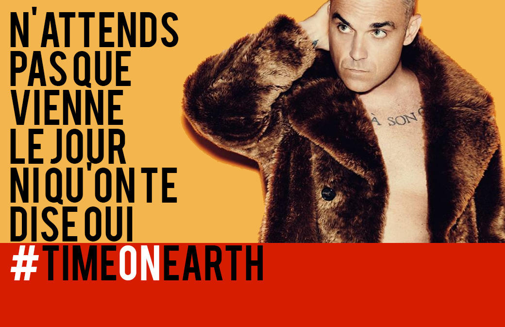 Téléchargez Time On Earth : le single en français de Robbie Williams
