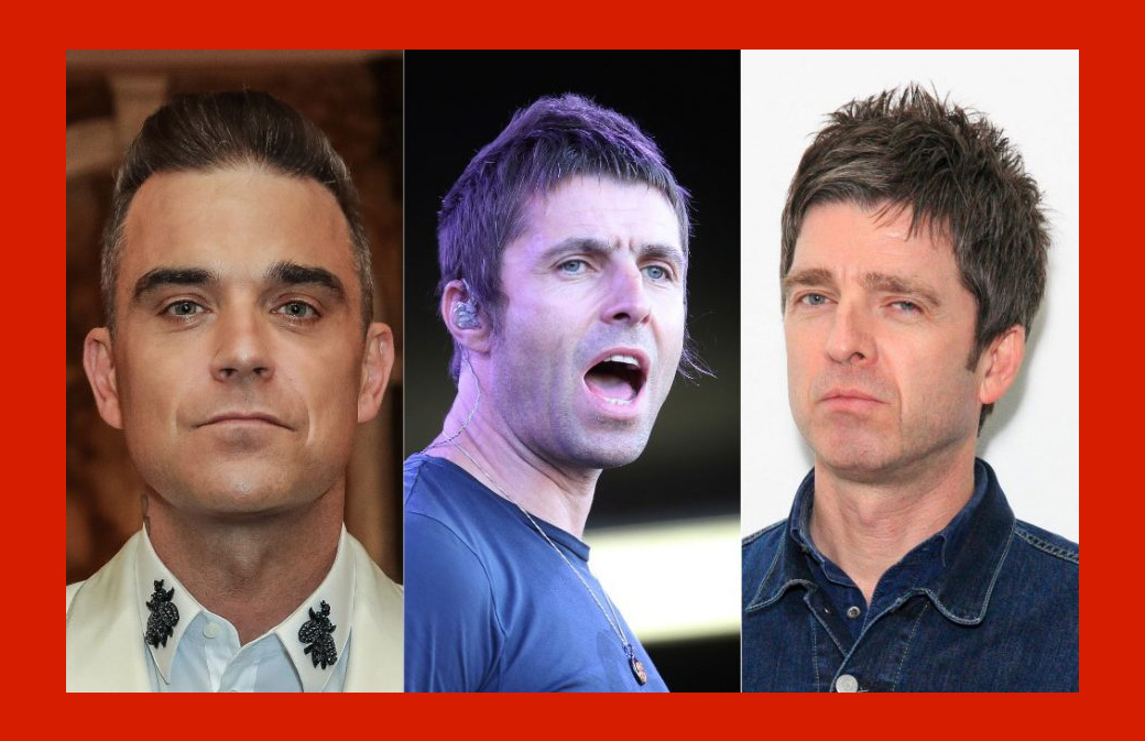 Liam Gallagher compare son frère à Robbie Williams