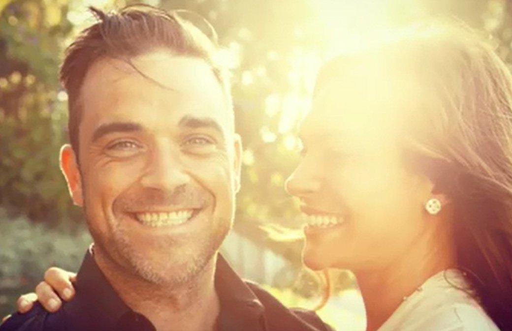 Robbie Williams et sa femme fêtent leurs 7 ans de mariage!