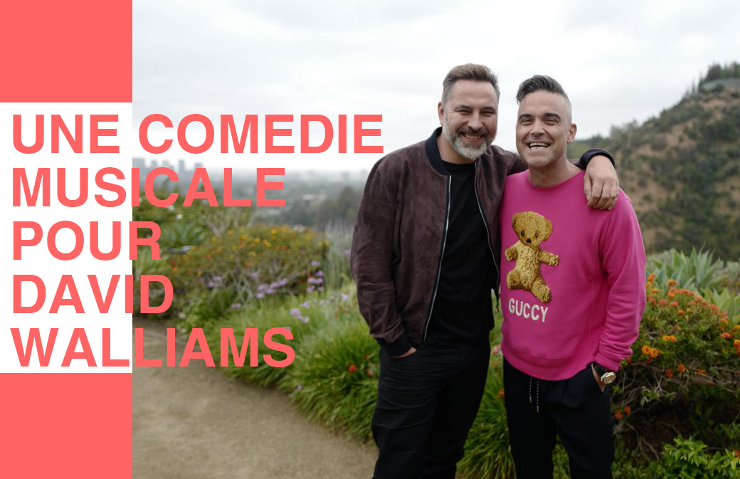 Robbie Williams écrit des chansons pour David Walliams