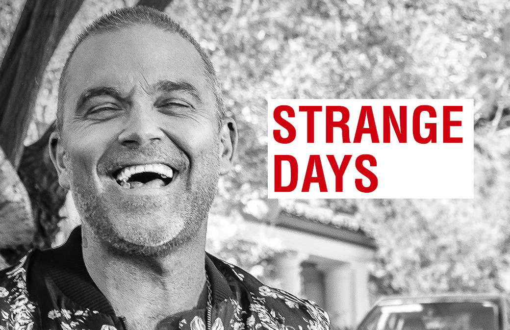Strange Days : le single surprise de Robbie Williams !