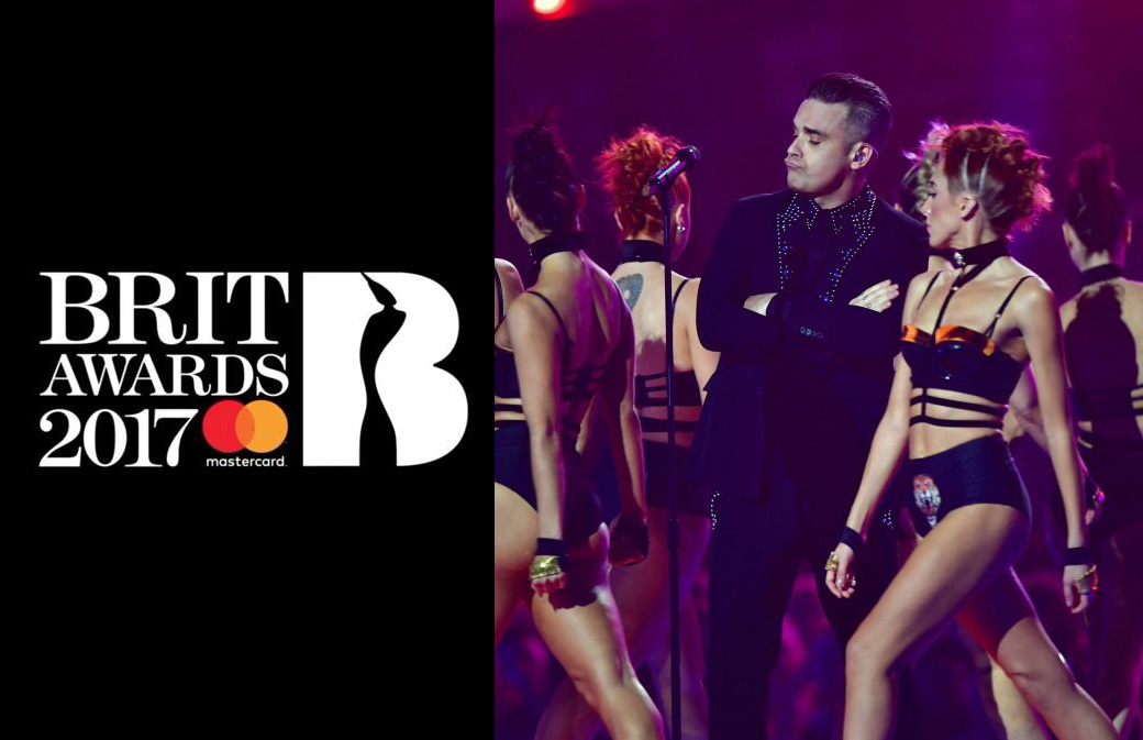 Brit Awards 2017 : Vidéo de la performance de Robbie