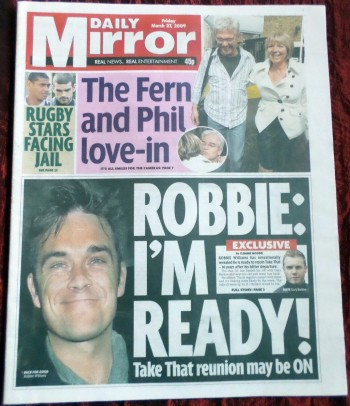 Daily Mirror (27/03/09)