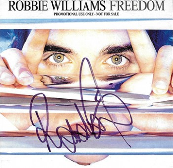 Freedom (CD 2 Titres - PROPERDJ 2 - Signed - UK)