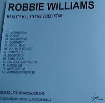 Reality Killed The Video Star (Promo - 1)
